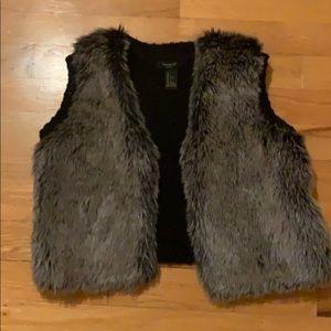 Kids Fur Vest